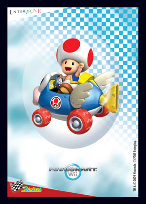 EnterPLAY > Our Products > Mario Kart Wii Stickers
